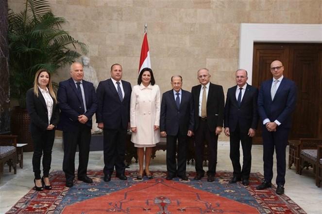 الرئيس عون استقبل وفد من حزب الخضر اللبناني برئاسة السيدة ندى زعرور