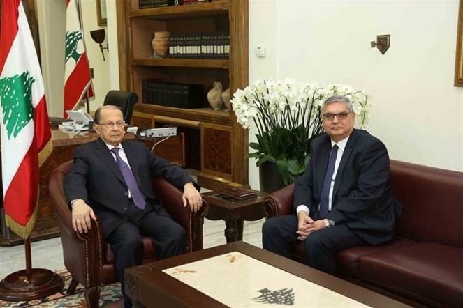 n الرئيس عون يلتقي رئيس هيئة التفتيش المركزي القاضي جورج عواد