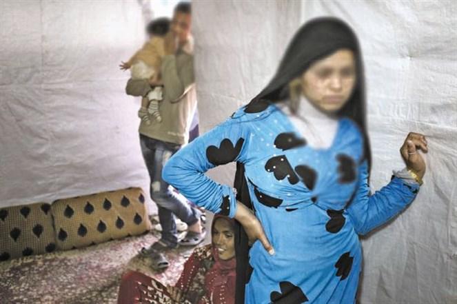 لاجئات سوريات قاصرات لـ