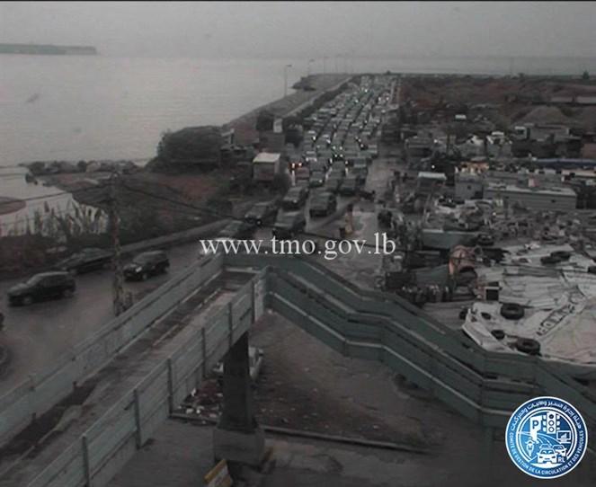 الطريق البحرية باتجاه بيروت